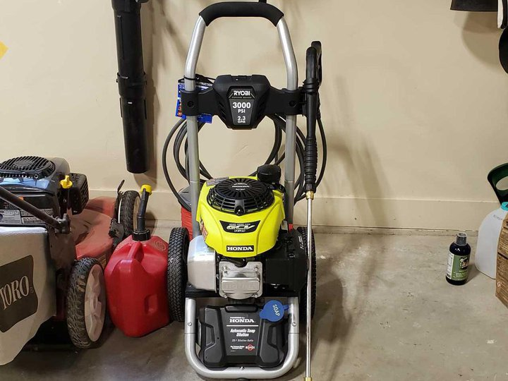 Rent Duck | Power washer 3000 psi